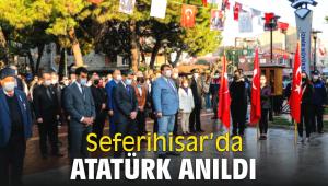 Seferihisar'da Atatürk anıldı