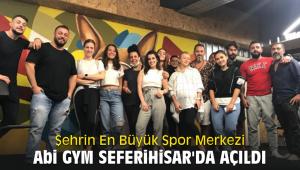 Şehrin En Büyük Spor Merkezi Seferihisar'da açıldı
