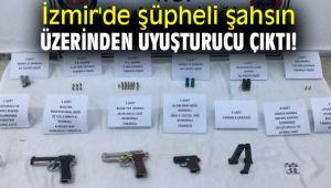 İzmir'de şüpheli şahsın üzerinden uyuşturucu çıktı!