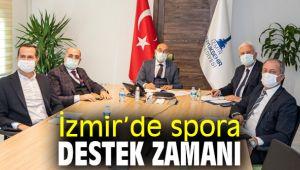 İzmir Büyükşehir Belediyesi'nden spora destek!