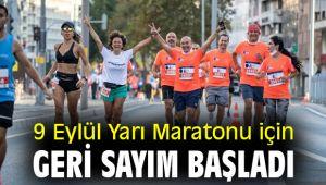 9 Eylül Yarı Maratonu heyecanı başladı