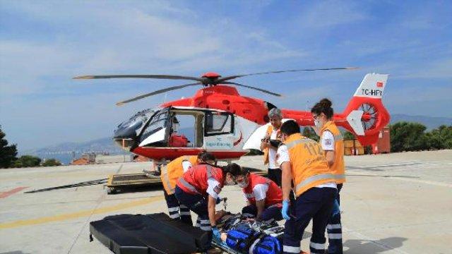 Ambulans Havalandı, Mesafeler Kısaldı