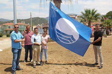 Menderes Sahilleri Mavi Bayrakla Donatıldı