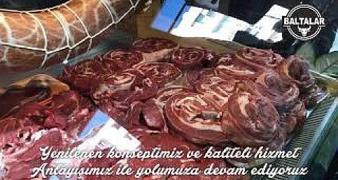 BALTALAR ET - YELİNENEN KONSEPTİ İLE HİZMETİNİZDE